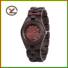 wood face watch fashion vogue watch wholesale import watches