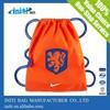 2015 hot sale nylon drawstring soccer bag