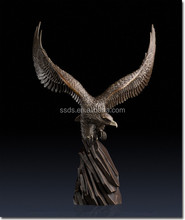 Bronze large eagle statues