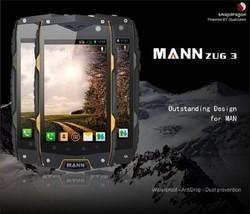 mobile phone ZUG 3 4.0 inch Capacitive Screen waterproof smartphone