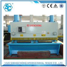 QC11K nc hydraulic cutting machine technical parameter