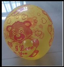balloon printing with costom logo for advertising