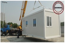 Sandwich panel with steel structure container home/Removable container house for family