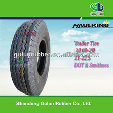 10.00-20 11-22.5 Trailer Tire ST505/75D ST225/75D15 With Smithers DOT:Y3