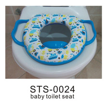 Children soft Toilet Seats Safety cool toilet seat with handles