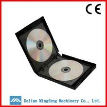 Manufacturer fancy cheap thick black poly plastic CD DVD case