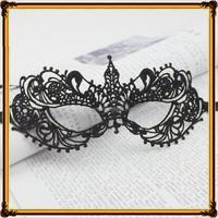 Black hollow-out Lace Mask Sexy Women Eye Mask