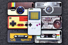 Retro tape creative mobile phone shell case for iphone series