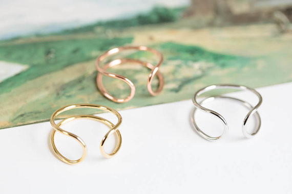 open wire band ring,adjustable rings,stretch rings,men ring,cool rings,couple rings,mens rings