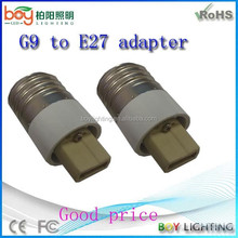 Conversion lamp holder g9 base to e27 base,g9 base led lamp,g9 base cfl