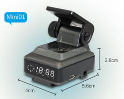 Real Time Car DVR Black Box and GPS tpx motorcycle radar detector with Overspeed Alarm