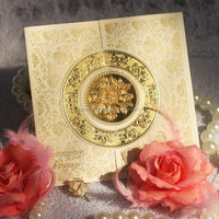 Top grade export wedding invitation gemstone