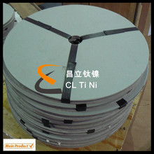 MMO Titanium Anode Ribbon for tanks storage