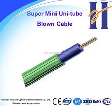 Fiber Optic cable Super Mini Uni-tube Air-blown cable
