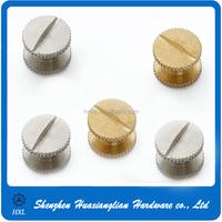 Hot sale custom special serrated edge book wire binding screw