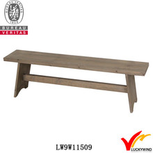 Handmade Wood Antique Patio Seat French Furniture Bench