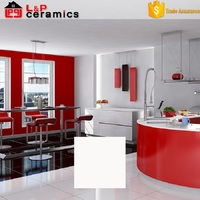 30% discount good quality 60x60 polished glazed large white floor tiles
