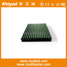 Top sales!!!!!outdoor/semi-outdoor led screen module P10 Green LED Module 32x16 Outdoor IP65