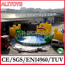 giant PVC inflatable water park,backyard inflatable water park for sale