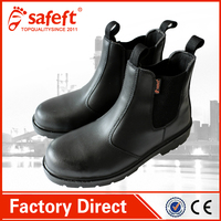 water-proof slip and oil resistant work shoes/steel toe cap boot shoes
