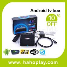 2015 New Arrival amlogic s802 m8 kodi quad core Android Tv Box