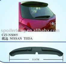 ABS CAR SPOILER FOR NISSAN TIIDA'02-08