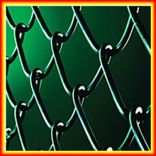 competitive quality and price chain link fence/Decorative Chain Link mesh Fence/Good Quality Economical Chain wire mesh Fence