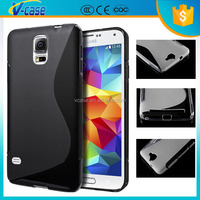 VCASE High protective ultra thin soft S line clear back case tpu cover for acer liquid e700