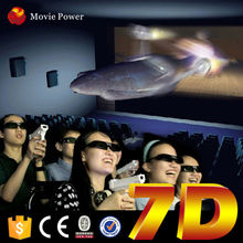 Interactive 7d cinema for sale cinema 7d with gun shooting sale with promotiom price