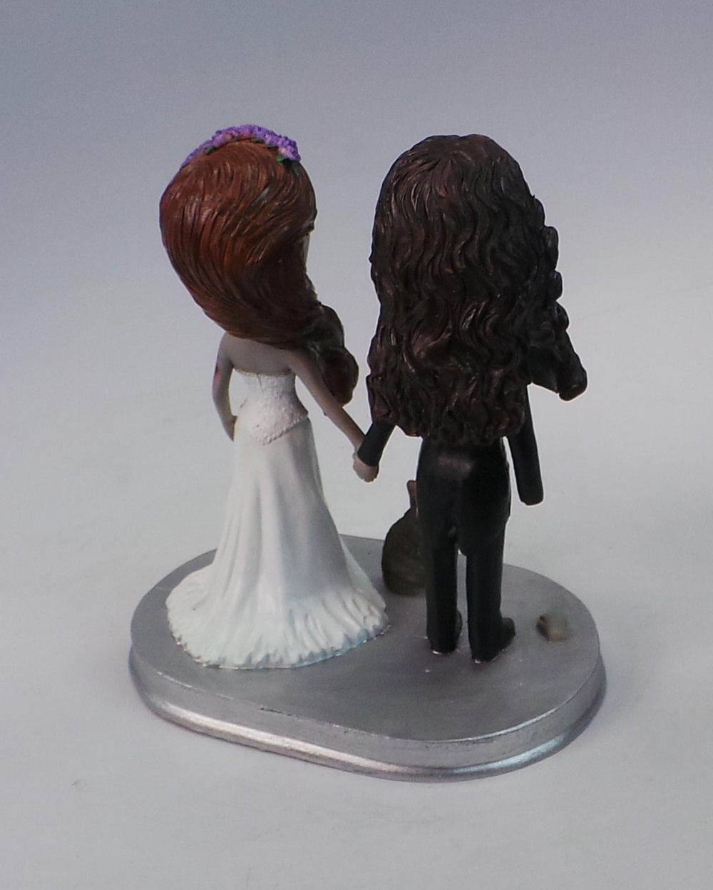 "7"" custom cake topper wedding"