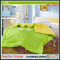 Colorful quilt/High quality warmer comforter bedding sets for winter