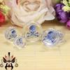 Hot sale beautiful crystal Body Jewelry Ear Plugs Piercing Steel Fashionable Body piercing Jewelry