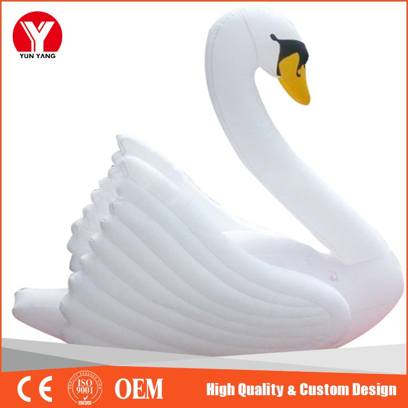inflatable swan 37
