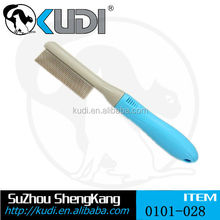 2015 hot sale flea comb with metal pin for dog