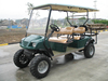 4 seater electric club car 4x4 golf cart electric pick up vehicle cheap electric car four wheel with long roof EG2040ASZ