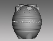 costom different liters HQ HDPE water tank blow mould /vertical tank /professional technology