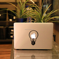Best Promotion Cute LAMP Styling Vinyl Decal Sticr Skin for Apple Laptop for MacBook Air Pro 11 13 15 Computer Wall Decor