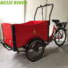 Steel 3 wheel tricycle/cheap steel frame cargo bike cargo tricycle on sale