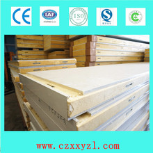 0.5mm painted steel one side, the other side 0.5mm stainless steel pu sandwich wall panels