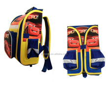 Carton folding school bag waterproof kids backpack