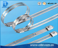 Ladder Single Barb Lock Type Stainless Steel Cable Ties