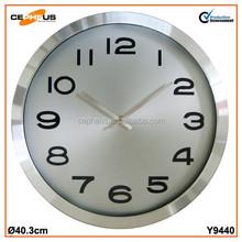 "16"" Laser Finishing Aluminium Wall Clock"