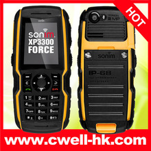 Sonim XP3300 FORCE outdoor phone IP68 Waterproof RUGGED UNLOCKED Mobile Cell Phone