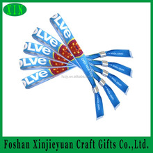 Fabric full color woven hand band for family event party