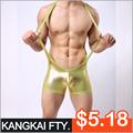 caliente la venta de pieles de imitación ropa interior body monos de los hombres para los hombres knk12