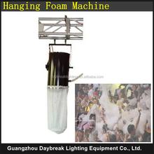 big foam machine 1200w snow machine super club dj foam maker with flight case / flycase pack