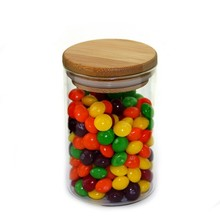 2015 New style preserving jar Best selling glass jar High borosilicate preserving jar for candy