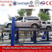 HACHIEVE Brand double parking manual hydraulic garage car lift