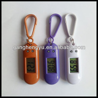 Mini portable digital keychain watch , Children keychain clock