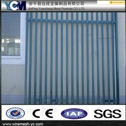 used white wrought iron fence panels finials